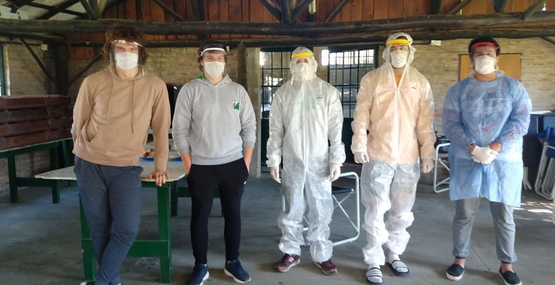 El espíritu solidario de los clubes de la URBA en tiempos de pandemia
