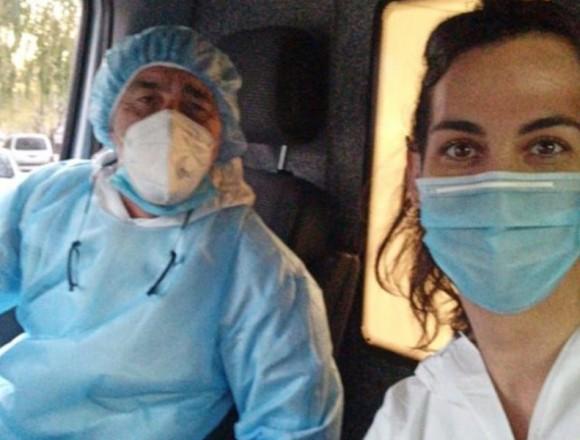 En el frente: médica y rugbier en la lucha contra el COVID-19