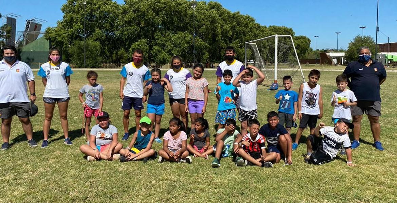 Talleres de Rugby de la URBA en el Parque Sarmiento y en el KDT