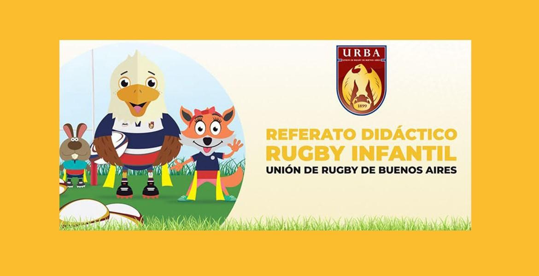 Referato didáctico para rugby infantil