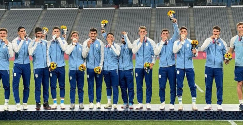 Histórica medalla de bronce para el rugby argentino