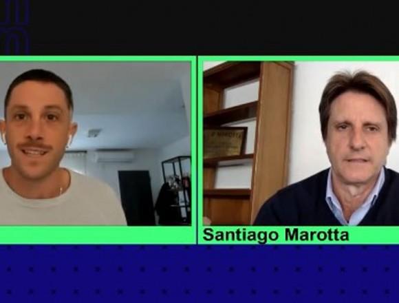 """Santiago Marotta: """"Estamos felices de volver a ver el rugby de la URBA"""""""