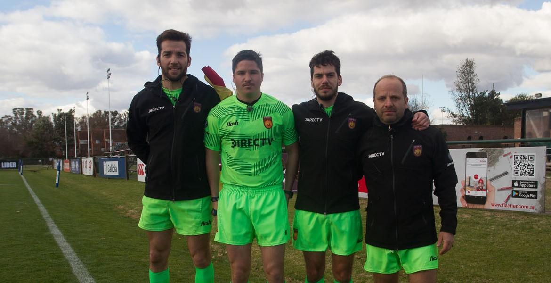 Árbitros 2a Fecha del URBA Top 12 Copa DIRECTV presentada por Zurich