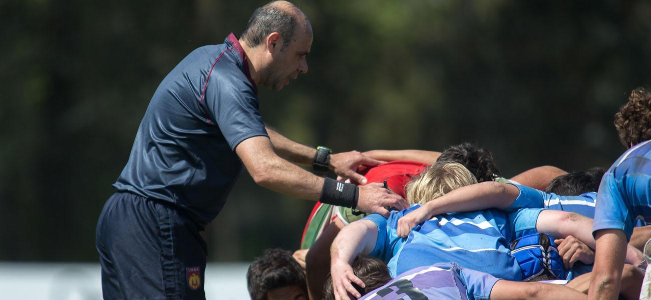 Capacitación de SCRUM para entrenadores y referees de Rugby Juvenil