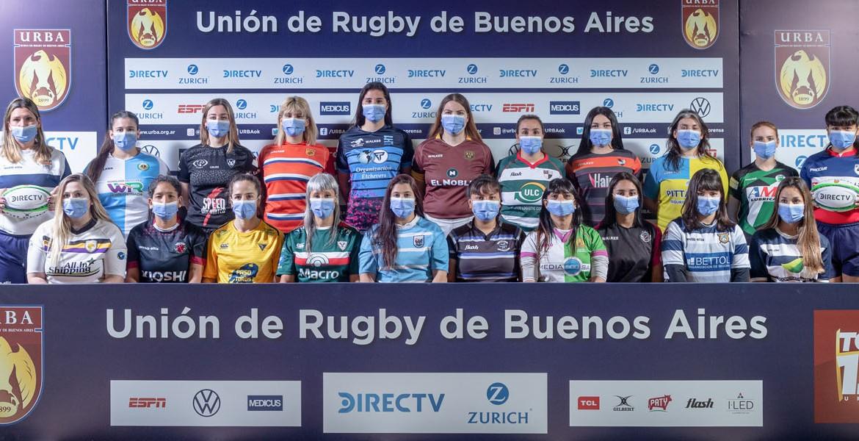 El Rugby Femenino de la URBA vuelve oficialmente a las canchas